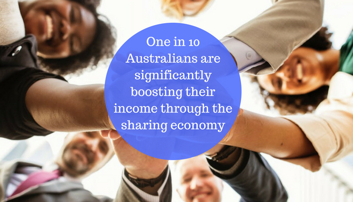 More Australians boost their income through the sharing economy