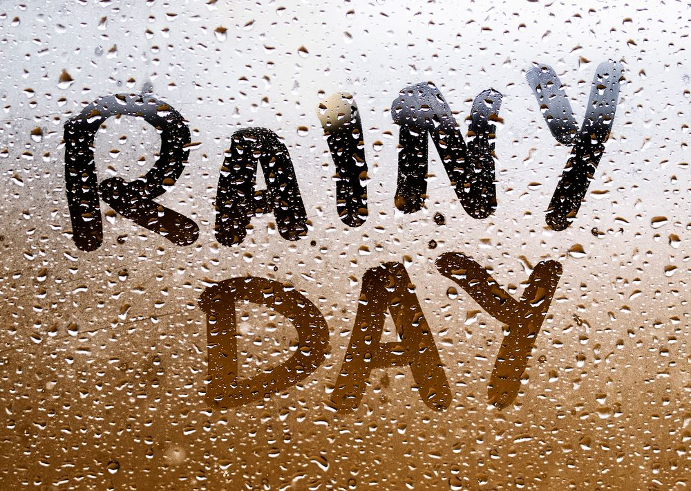 Four ways to save for a rainy day
